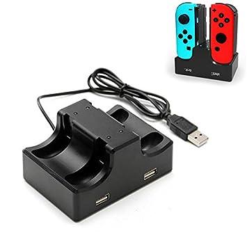 Donkeyphone - Base Cargador para MANDOS Joy-con DE Nintendo ...