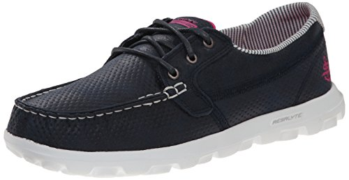 Skechers Performance Women\'s On-The-Go Flagship Slip-On Boat Shoe