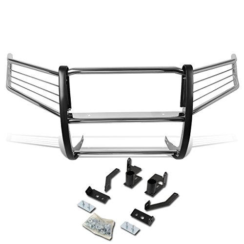 DNA Motoring GRILL-G-041-SS Front Bumper Brush Grille Guard [For 09-15 Honda ()