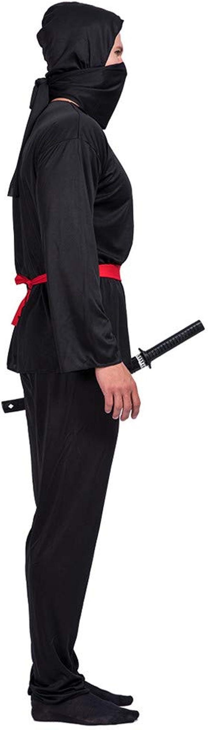 Amazon.com: Ninja Disfraz de adulto japonés Samurai Assassin ...