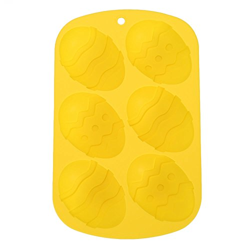 Pink Silicone Easter Egg Mold