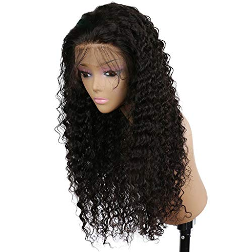 Clearence Wigs Curly Wig Glueless Full Lace Wigs Black Women Indian Remy Human Hair Lace -