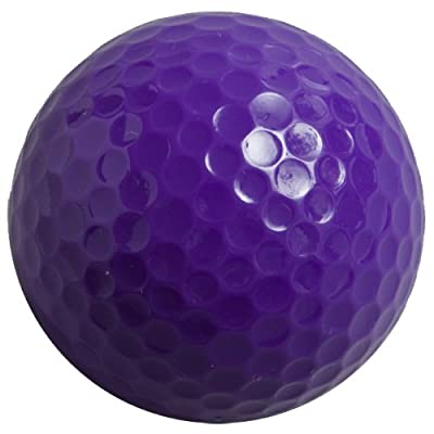 Colored Golf Balls, (Pack of 12 Balls) Plain, NON-Printed