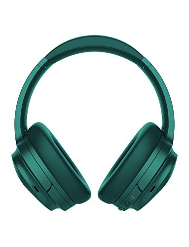 COWIN SE7 Active Noise Cancelling Headphones Bluetooth Headphones Wireless Headphones Over Ear With Mic/Aptx, Comfortable Protein Earpads 30H Playtime, Foldable Headphones For Travel/Work - Dark Green by cowin (Image #1)