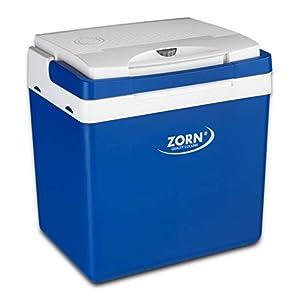Zorn® Z26 I Elektrische Kühlbox I Kapazität 24 L I 12/230 V für Auto, Boot, LKW, Balkon und Steckdose