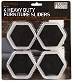 4 Piece Furniture Sliders Glider Pads Glides