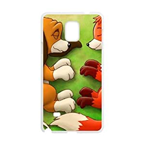 Lovely fox and wolf Cell Phone Case for Samsung Galaxy Note4