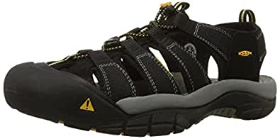 Men's Newport H2 Sandal - 8 - BLACK
