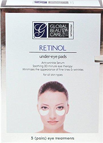 Global Beauty Care Premium Retinol Anti-Wrinkle Eye Pads by Global Beauty Care Premium