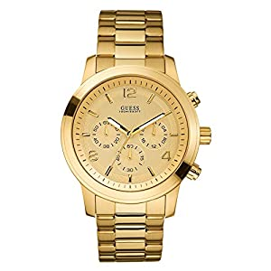 GUESS Factory Women's Gold-Tone Chronograph Watch, NS