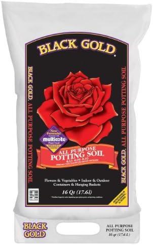 Black Gold All Purpose Potting Soil 1410102 16 Quart