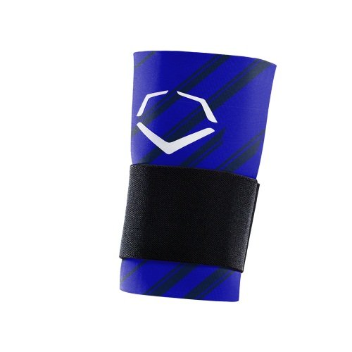 EvoShield MLB Speed Stripe Wrist Guard with Strap, Royal, Large