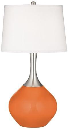 Celosia Orange Spencer Table Lamp Amazon Com