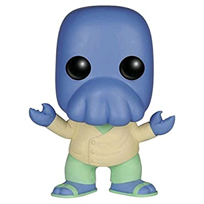 Funko POP! Futurama Alternate Universe Blue Zoidberg Vinyl Figure #55 Exclusive: Toys & Games