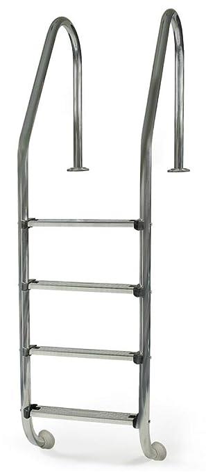Gre 40272 - Escalera Standard de Acero Inoxidable para Piscina Enterrada, 183 cm: Amazon.es: Jardín
