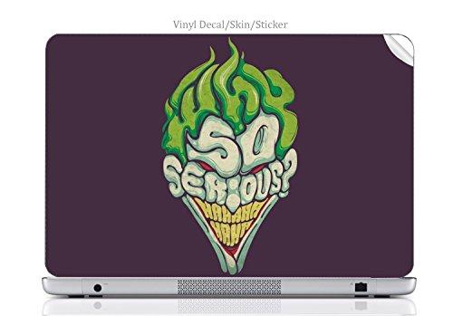 Laptop VINYL DECAL Sticker Skin Print Laughing Clown fits Chromebook 550