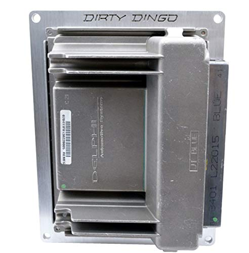 Dirty Dingo LS PCM GEN 3 411 Billet Mounting Plate 1997-2006 24X LS2 LS1 4.8 5.3 5.7 6.0 (Flat Engine Mounting Plate)
