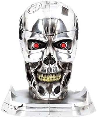 Nemesis Now Bookends 18.5cm Figurine Terminator 2 Buchstützen, 18,5 cm, Kunstharz, Silber