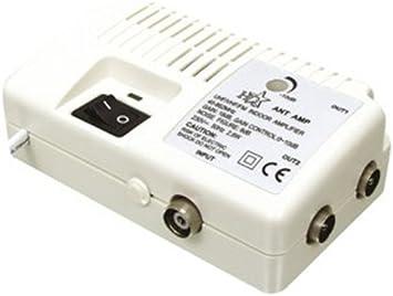 HQ - Amplificador de antena con dos salidas (18dB): Amazon.es ...