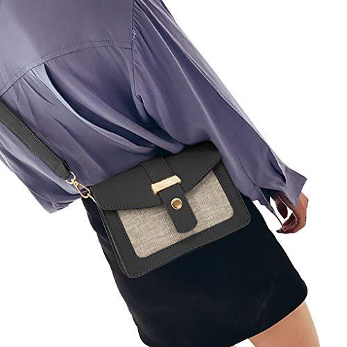 ragazza Single Bags Republe colore tasto PU borsa spalla del donne Messenger Contrasto delle di Crossbody magnetica della della xqrzEzT4wH