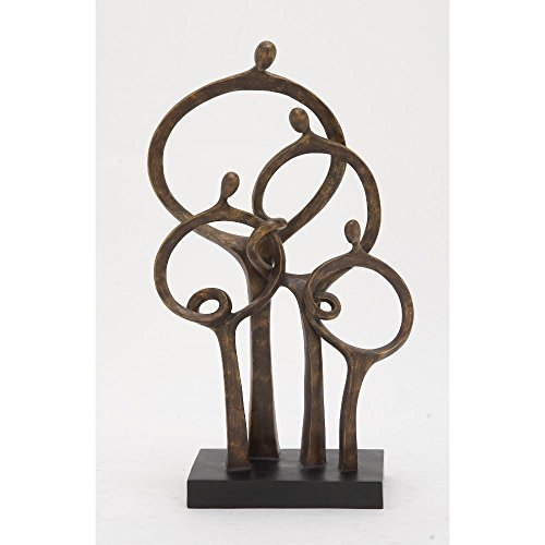 (Deco 79 58334 Polystone Abstract Family)