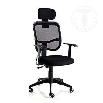 Coole Bürostühle tomasucci cool black bürostuhl amazon de küche haushalt