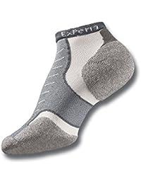 Experia Coolmax Micro Mini Crew Sock Size 11, Grey
