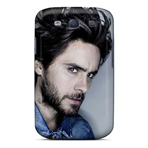 DannyLCHEUNG Samsung Galaxy S3 Protector Hard Phone Case Allow Personal Design Colorful 30 Seconds To Mars Band 3STM Pattern [xFt15866MUAf]