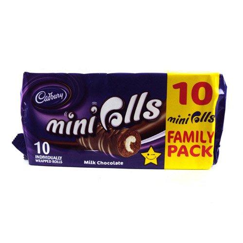 Cadburys Chocolate Mini Rolls 10 Pack 280g by Cadburys [Foods]