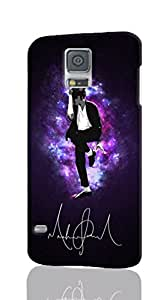 3D S5 Case - MJ - Michael Jackson Patterned Beauty Skin Hard 3d Case Cover for Samsung Galaxy i9600 S5 - Haxlly Designs Case