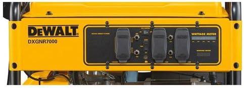 DEWALT PM0167000.02 DXGNR7000 7,000-Watt Portable Generator 50-ST/CARB, Red 416 VJE6wbL