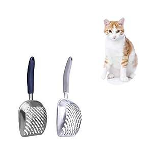 Amazon.com: ZYZ - 2 palas de arena para perro, gato o ...