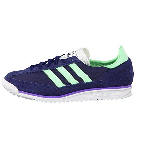 adidas Originals - Zapatillas para mujer azul - collegiate navy/light flash green s15/joy purple s