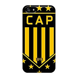 Bumper Hard Cell-phone Cases For Iphone 5/5s With Support Your Personal Customized Trendy Penarol Image LavernaCooney