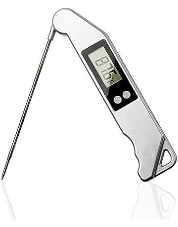 Rakii Digital Termómetro electrónico de alimentos Termómetro de lectura instantánea Termómetro de cocina super barbacoa Termómetro
