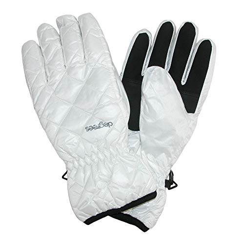 white insulated gloves - 8