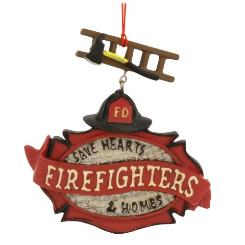 Kurt Adler Firefighters Banner
