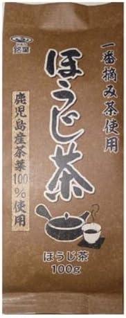 銘葉 一番摘み茶使用 ほうじ茶( 鹿児島県産) 100g×10個