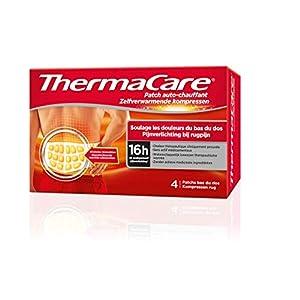 ThermaCare – Patch Auto-chauffant Dos – Soulage les douleurs du bas du dos – 16H de chaleur constante – Boîte de 4…