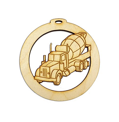 - Personalized Cement Truck Ornament