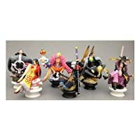Megahouse ONE PIECE CHESS PIECE COLLECTION R Vol.3 Piece Chess Piece Collection R Vol.3 (1BOX, 6 pcs) figure