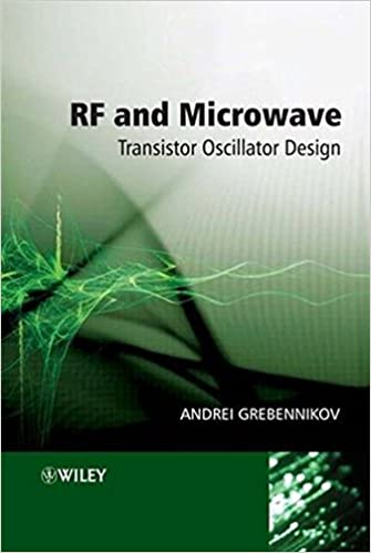 Download PDF by Andrei Grebennikov: RF and microwave transistor
