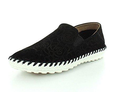 Bernie Mev Womens Tw 05 Loafers Schoenen Zwart