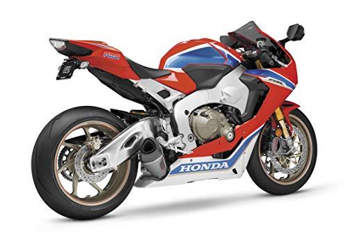 Yoshimura 17-18 Honda CBR1000RR Alpha T Slip-On Exhaust (Street/Stainless Steel/Stainless Steel/Carbon Fiber/Works Finish) ()