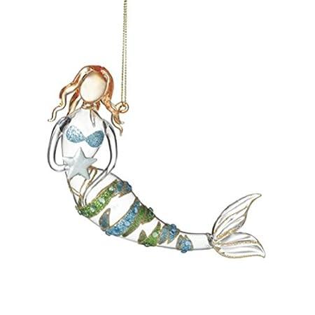 416-aw1S-BL._SS450_ Mermaid Christmas Ornaments
