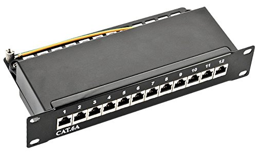 2 opinioni per odedo® Patch Panel Cat 6 a 10 G 500 MHz 10 gigbit distributore Campo
