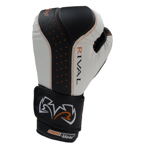 RIVAL BOXING GLOVES (RB10 INTELLI-SHOCK BAG GLOVES) (WHITE, LARGE) [並行輸入品] B07T3ZXCNS