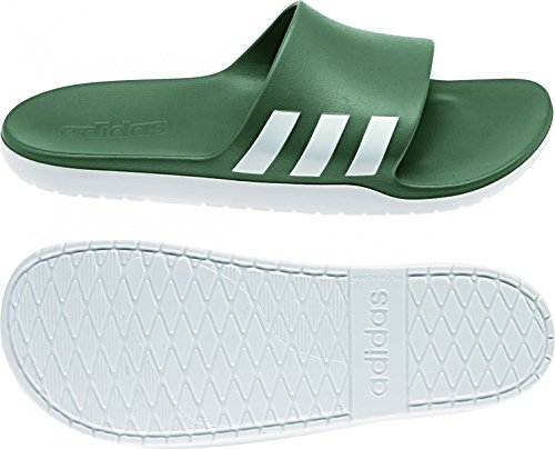 Adidas aqualette CF–Sandales pour hommes, vert–(Vertra/Ftwbla/Vertra) 38