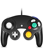 PC Gamecube Controller, VOYEE Wired USB Controller for PC Windows 7 8 10 (Black)
