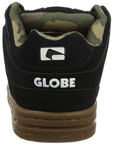 Scribe Negro Unisex Black Gum Globe Skateboarding Zapatillas Camo Adulto de SxdnFnqwf